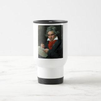 Ludwig van Beethoven Portrait Travel Mug