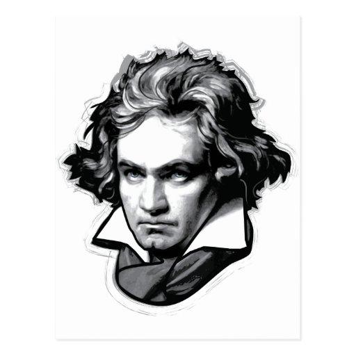 Ludwig van Beethoven Post Card