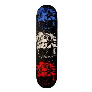 Ludwig van Beethoven tributes - bleached Skate Boards