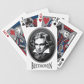 Ludwig VanBeethoven - Composer Musician Bicycle Playing Cards