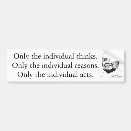 Ludwig von Mises Bumper Stickers