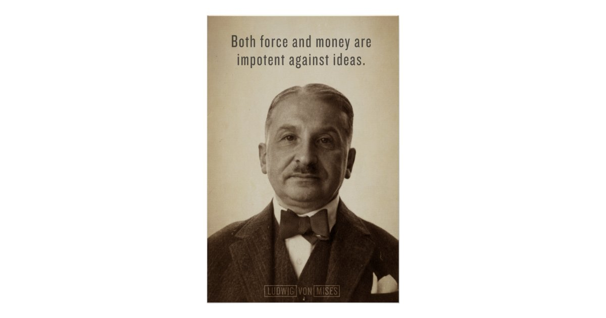 a look at ludwig von mises defender of the free market Ludwig von mises translated from german by s adler mises institute auburn, alabama  the defenders of socialism found themselves in a the-oretical and practical deadlock as soon as they destroyed  thought that although the free market may give proper sig.