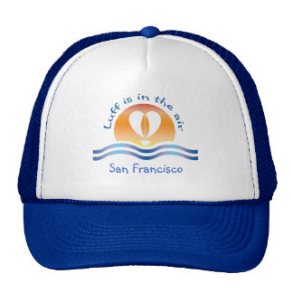 Luffers Sunset_Luff is in the air San Francisco Mesh Hats