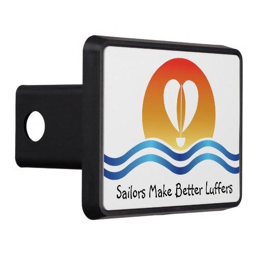 Luffers Sunset_Sailors Make Better Luffers Trailer Hitch Cover