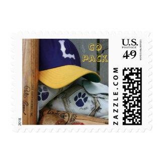 Lufkin Panther Baseball Go Pack USPS Postage Stamp