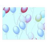 Luftballons Postkarten