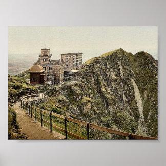 Lugano, Monte Generoso Hotel, Tessin, Switzerland Print