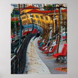 Lugano Switzerland Print