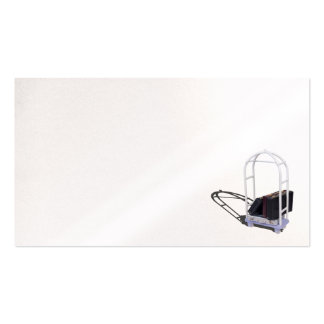 Luggage cart briefcases pack of standard business cards