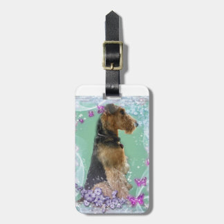 Luggage Tag Airedale Terrier