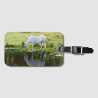 Luggage Tag & BusinessCard Slot for Horse Lovers