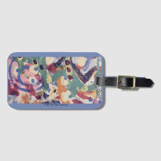 Luggage Tag: Detail of Howard McCree Art Luggage Tag