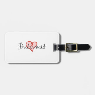 Luggage Tag for Bridesmaid