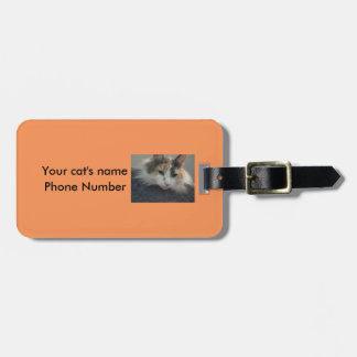 Luggage Tag For Your Cat Carrier