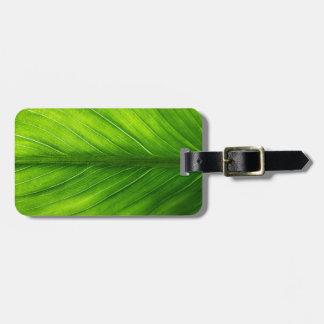 Luggage Tag--Leaf Bag Tag