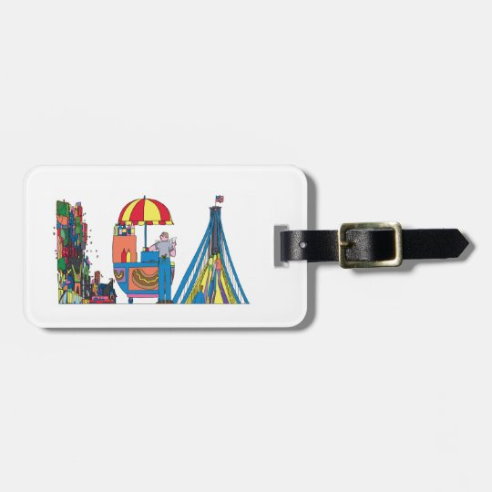Luggage Tag | NEW YORK, NY (LGA)