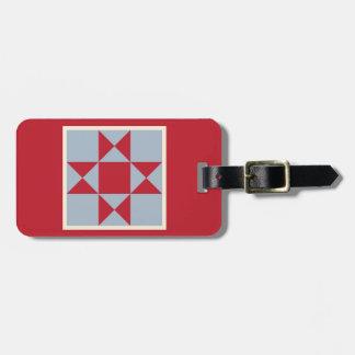 Luggage Tag - Ohio Star (small)