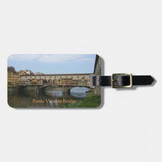 Luggage Tag--Ponte Vecchio Bridge Luggage Tag