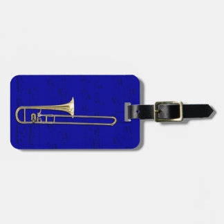 Luggage Tag - Trombone (alto) - Choose color