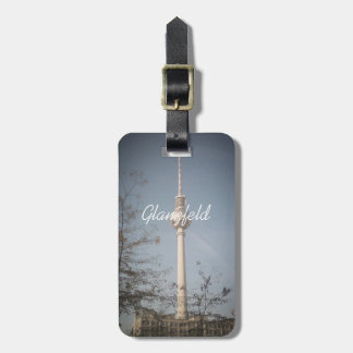 """luggage tag """"TV Tower Berlin"""""""