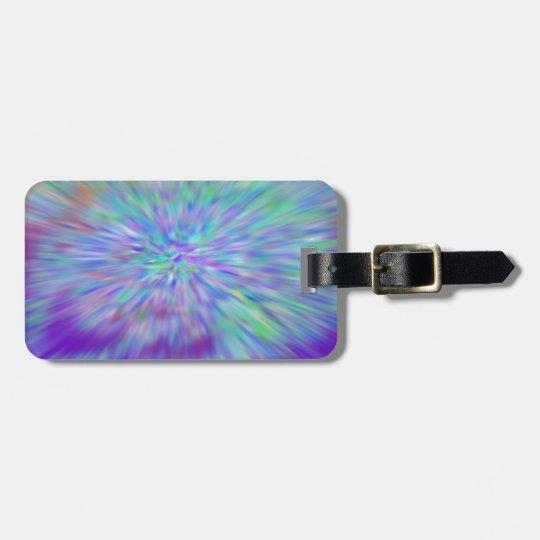 Luggage Tag w/ leather strap