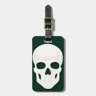 Luggage Tag w/ leather strap Stand out