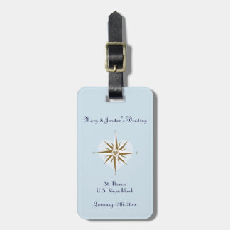 Luggage Tag Wedding Favors - Destination Wedding