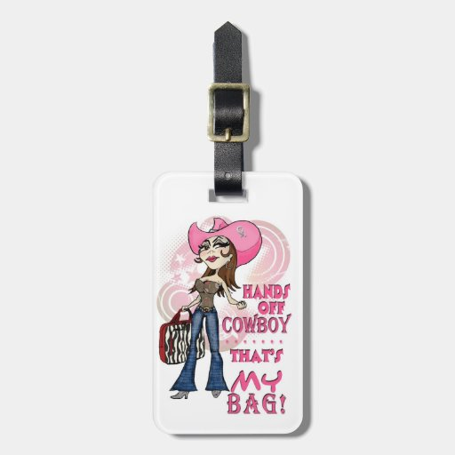 Luggage tag with a sassy attitude