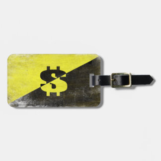 Luggage Tag with Cool Anarcho-Capitalist Flag