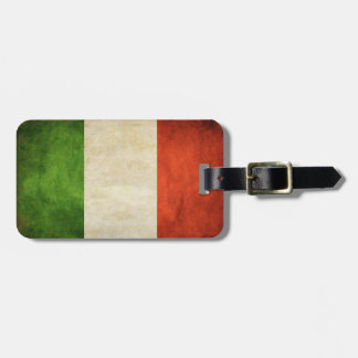 Luggage Tag with Dirty Flag from Italy