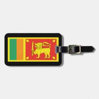 Luggage Tags of Sri Lanka