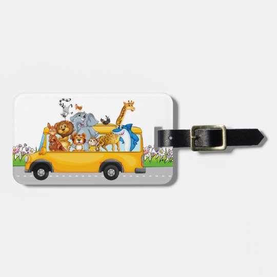 Luggage / Tote / Bookbag Tag for Kids