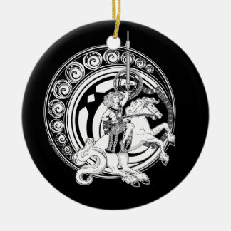 Lugh and the Sword of Light Ornaments