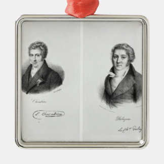 Luigi Cherubini  and Nicolas Marie Dalayrac Christmas Ornament