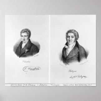 Luigi Cherubini  and Nicolas Marie Dalayrac Poster