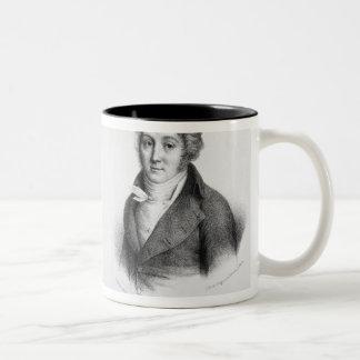 Luigi Cherubini  and Nicolas Marie Dalayrac Two-Tone Coffee Mug