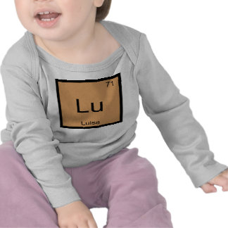 Luisa  Name Chemistry Element Periodic Table T Shirts