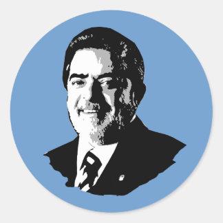 Luiz Inácio Lula da Silva Classic Round Sticker