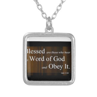 Luke 11:28 necklaces