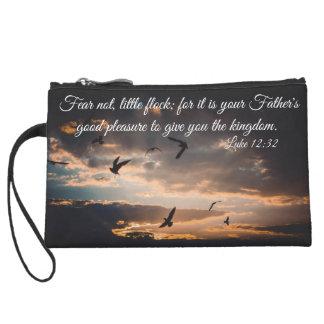 Luke 12:32 custom clutch