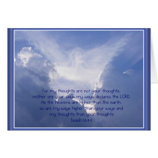 Luke 4:10, Angels watch over You, Encouragement Greeting Card