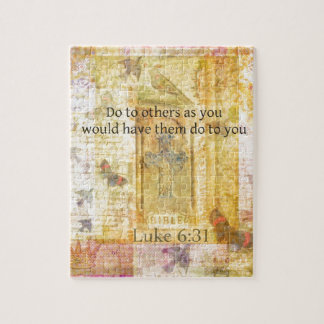 Luke 6:31  Do to others BIBLE VERSE Jigsaw Puzzles