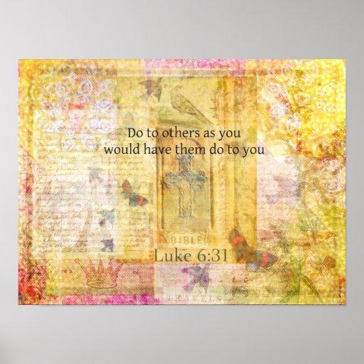 Luke 6:31  Do to others BIBLE VERSE Print