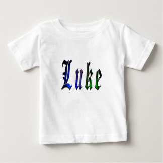 Luke, Name Logo, Baby Boys T-shirt. Baby T-Shirt