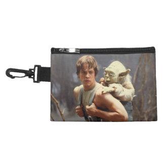 Luke Skywalker and Yoda Still Accessories Bag