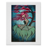 "Lullaby of Birdland 8""x10""  Matte Print"