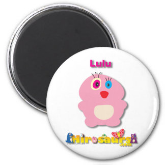 Lulu 6 Cm Round Magnet