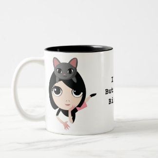 Lulu And Noodle Two-Tone Coffee Mug