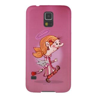 LULU ANGEL CUTE CARTOON Samsung Galaxy S5 Galaxy S5 Cover