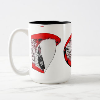 Lulu Macaw Cartoon Mug